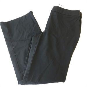 elie tahari black cropped pants, wool, so soft